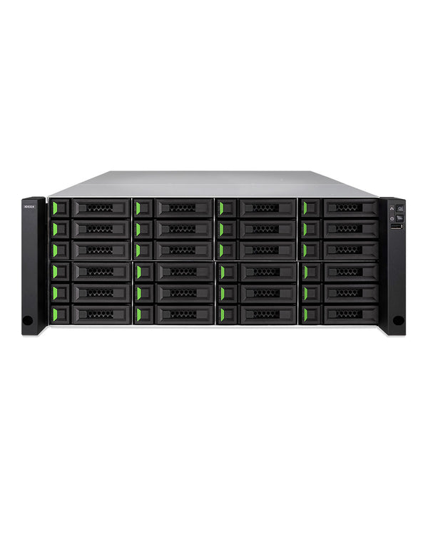 QSAN XCubeNAS XN8024R-SN 256TB integrated with 16TB Seagate/Toshiba Enterprise