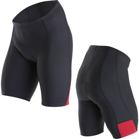 Pearl Izumi - Men's, Quest Splice Short, Black / True Red