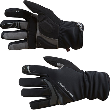 Pearl Izumi - Men's, Elite Softshell Gel Glove, Black, Size lg
