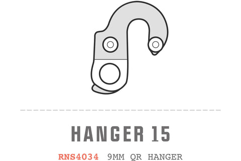 Saracen - Hanger 15 fits: All Tufftrax 2012 Models, All Tufftrax 2013 Models, Kili Exper