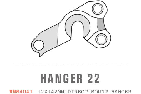 Saracen - Hanger 22 fits: All Ariel models (12x142mm hanger Direct Mount)