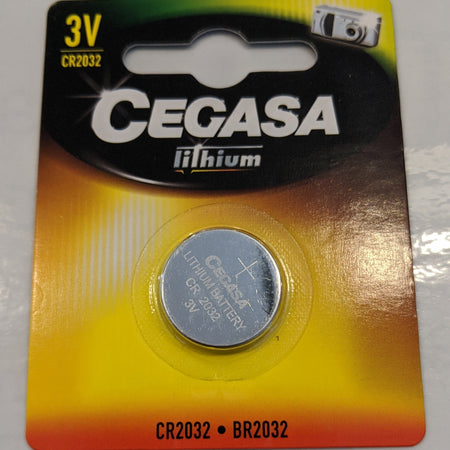 Cegasa Lithium CR2032 - BR2302 Computer Battery