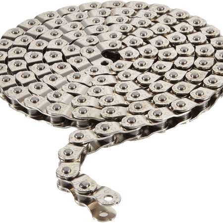 Arcane - Pitch 102 half link chain 1/2 x 1/8 inch silver 102 links
