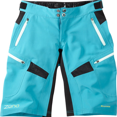 Madison - Zena women's shorts, caribbean blue