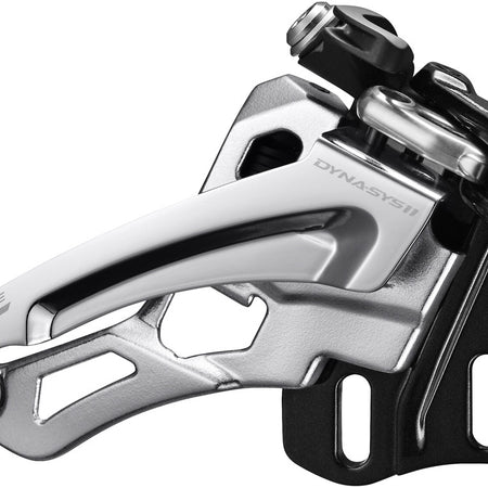 Shimano - Deore XT M8000-L triple front derailleur, low clamp, side swing, front pull