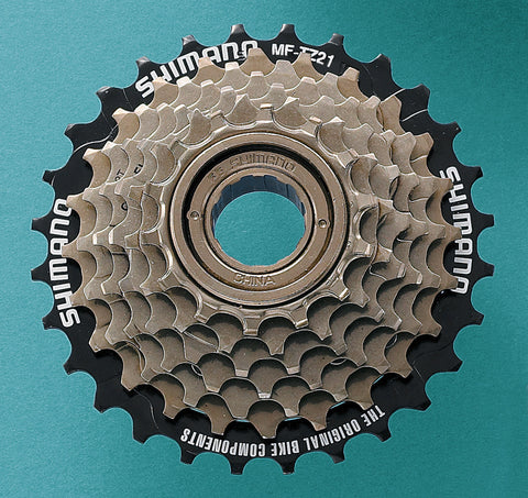 Shimano - Tourney MF-TZ21 7-speed multiple freewheel, 14-28 T