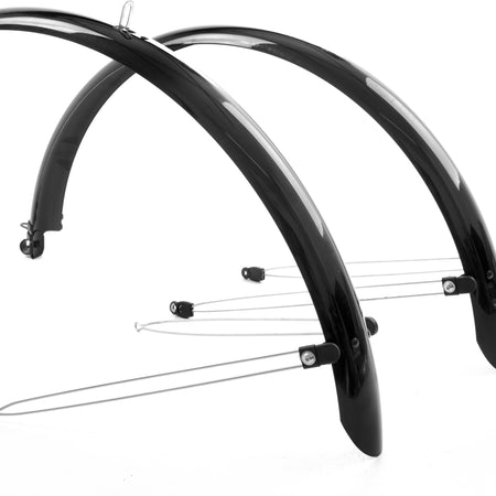 M-Part - Commute full length mudguards 26 x 60mm black