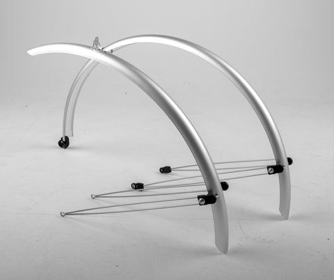 Madison - Commute full length mudguards 700 x 46mm silver