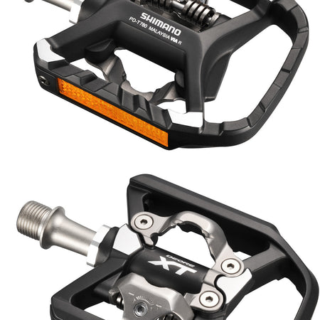Shimano - PD-T8000 XT MTB SPD Trekking pedals - single-sided mechanism