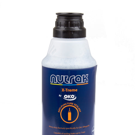Nutrak X-Treme sealant for DH and electric bike tubes, 400 ml bottle for 2 tubes