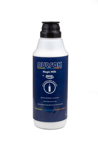Nutrak - Magic Milk tubeless tyre sealant, 1 litre