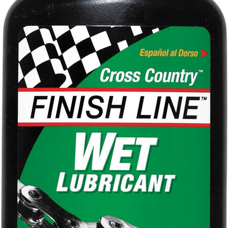 Finish Line - Cross Country Wet chain lube 4 oz / 120 ml