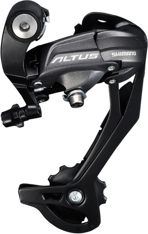 Shimano - RD-M370 Altus rear derailleur, 9-speed, SGS, black