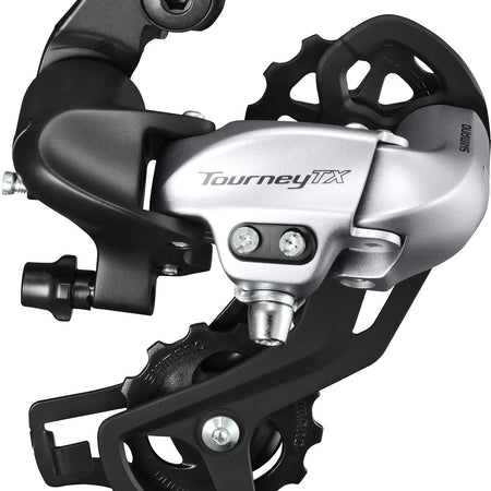 Shimano -RD-TX800 Tourney TX rear derailleur, direct mount, silver