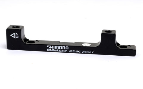 Shimano -SM-MAF203PP Adapter for post type calliper, for 203 mm Post type fork mount