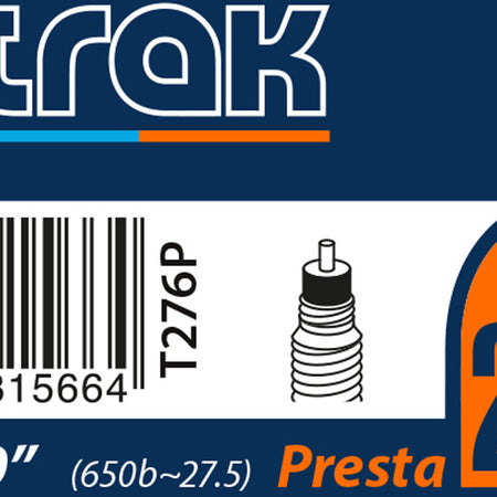 "nutrak - 27.5"" or 650B x 2.2 - 2.5 Presta inner tube"