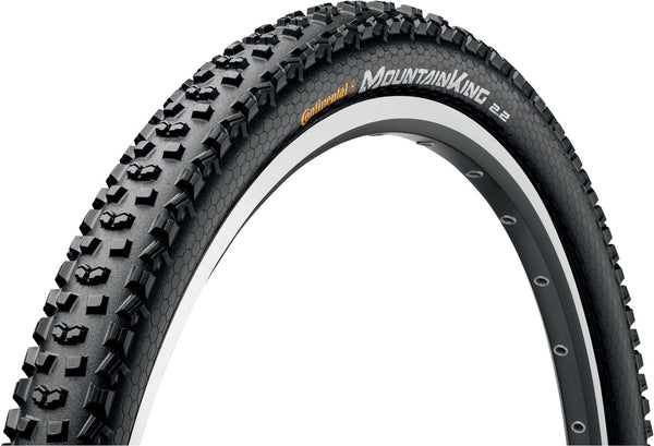 "Continental - Mountain King II 29 x 2.2"" Black Tyre"