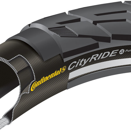 Continental City Ride II Reflex 700 x 32C black tyre