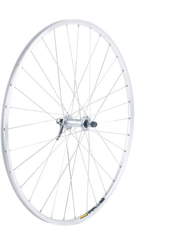 M-Part Wheels - Shimano R5800 / Mavic Open Sport silver / DT Swiss s/less steel front wheel