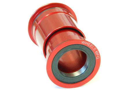 Wheels Manufacturing - PressFit 30 Angular Contact Bearing - Red