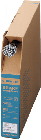 Shimano - Road stainless steel brake inner wire, 1.6 x 2050