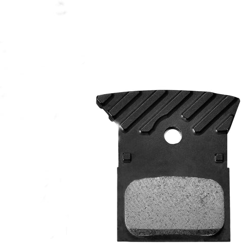 Shimano - L02A disc brake pads, alloy backed with cooling fins, resin