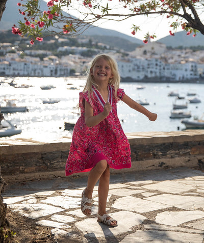Poupette St Barth Kids Mini Dress Sasha