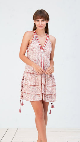 MINI DRESS BETY - PINK JOY