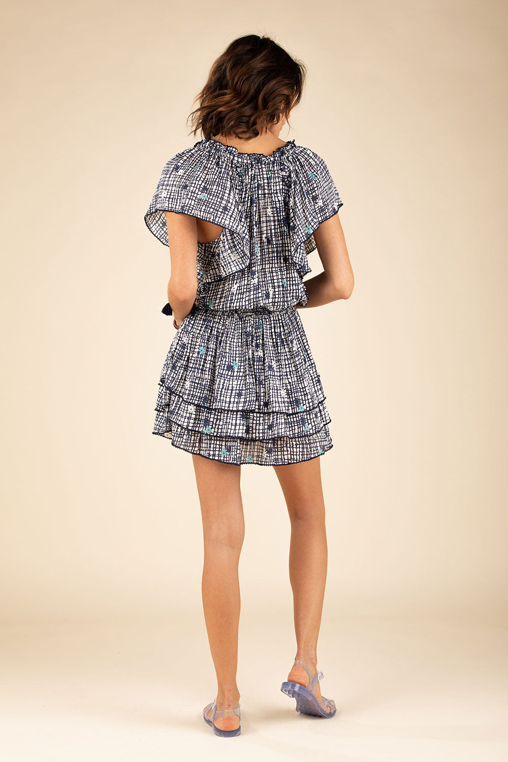 Mini Dress Elsa Layered - Blue Maze