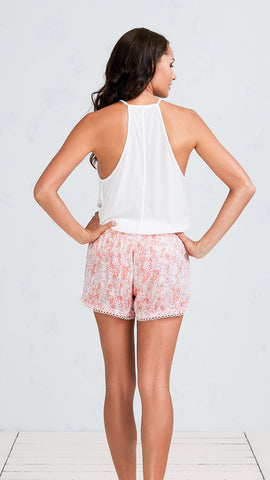 BOXER SHORT ELODIE - ORANGE CLOUD
