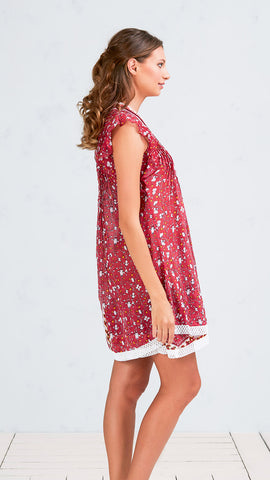 MINI DRESS PIPPA - PINK POPPY