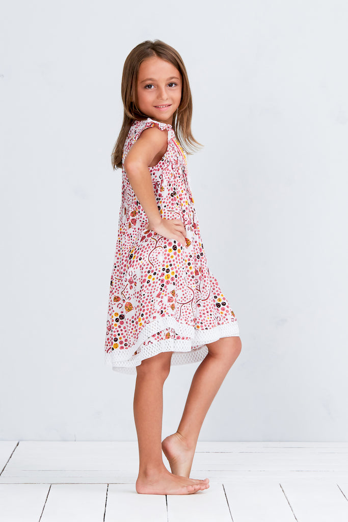 Mini Dress Sasha - Pink Leopard