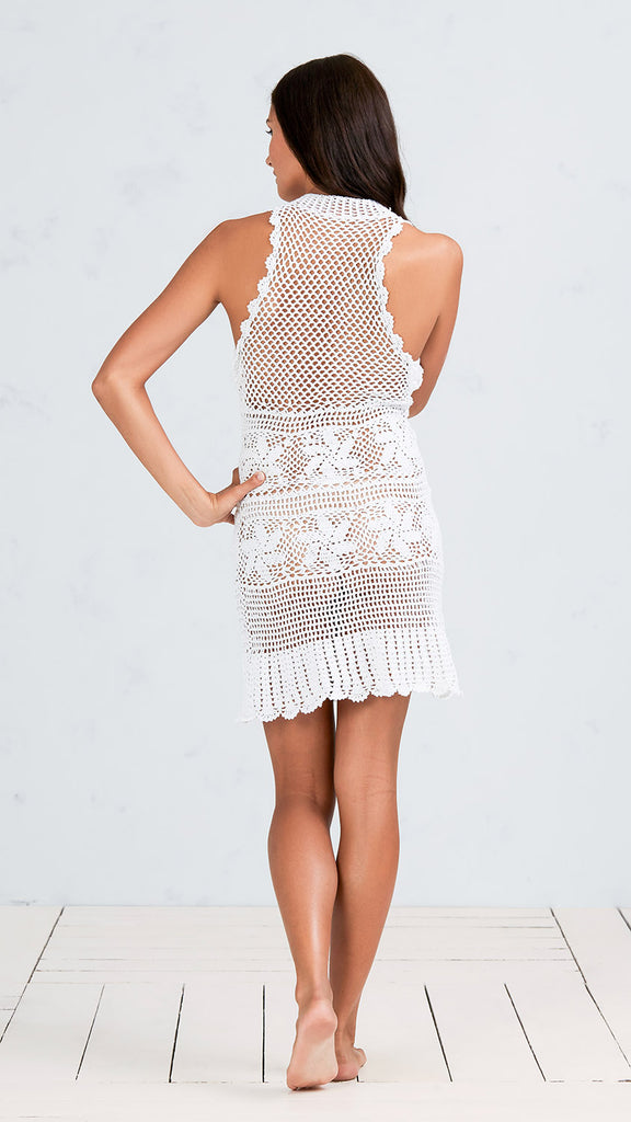 DRESS RANIA - WHITE