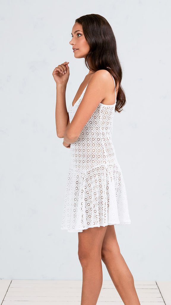 MINI DRESS RANIA - WHITE