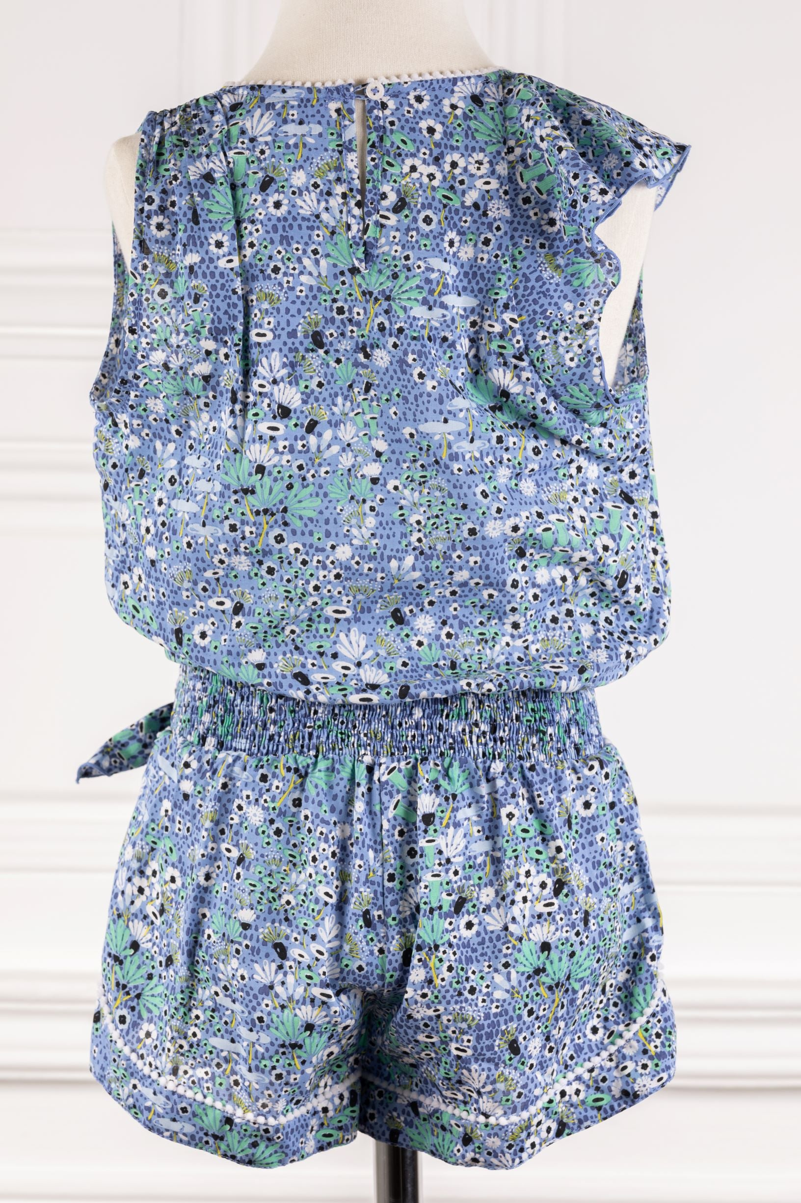 Poupette St Barth Kids Short Jumpsuit Gwen
