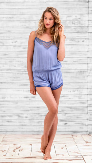 SHORT JUMPSUIT CIAO - BLUE