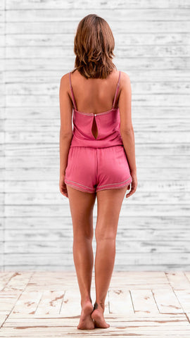 SHORT JUMPSUIT CIAO - PINK