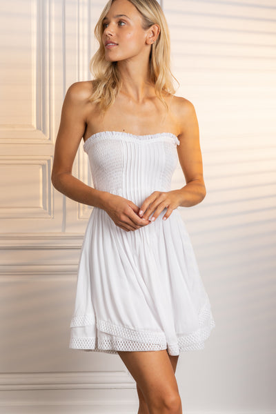 Poupette St Barth Bandeau Dress Claire