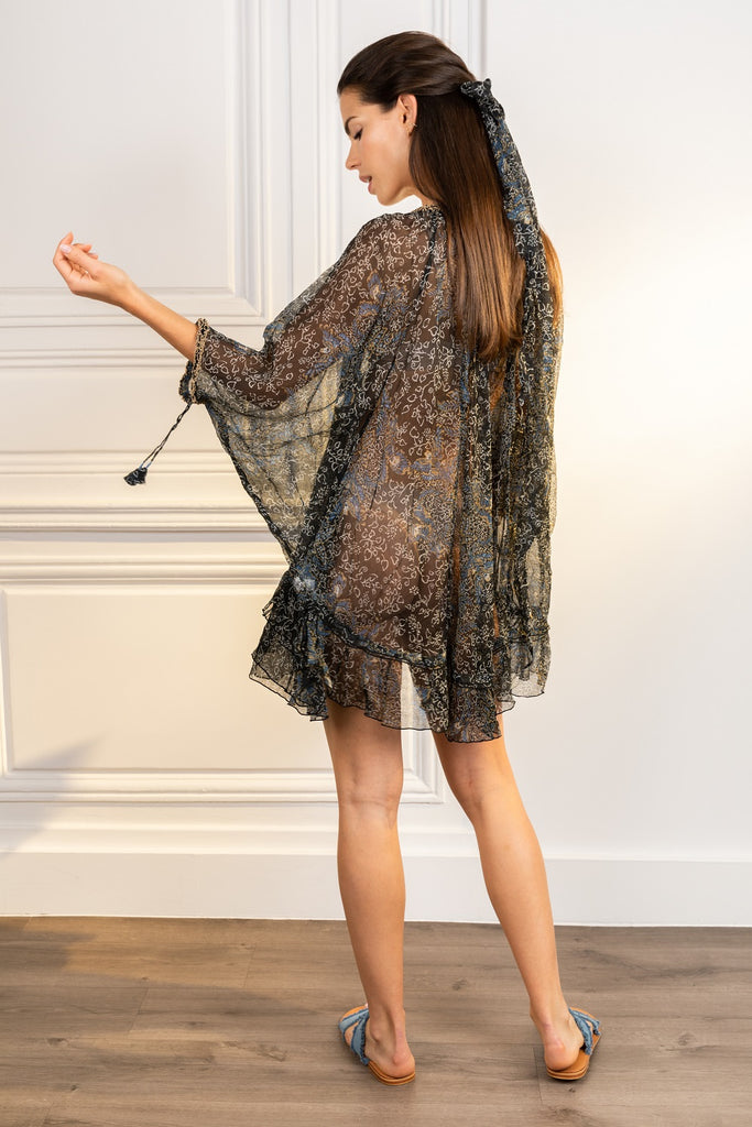 Poupette St Barth Dress Poncho Nava