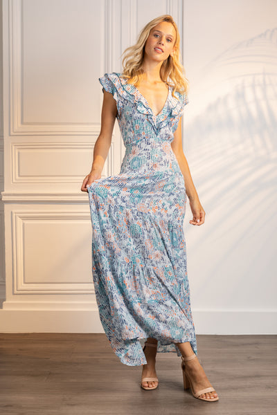 Poupette St Barth Long Dress Della