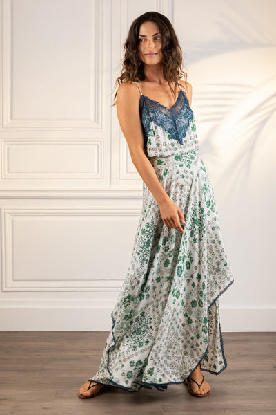 Poupette St Barth Long Dress Elora