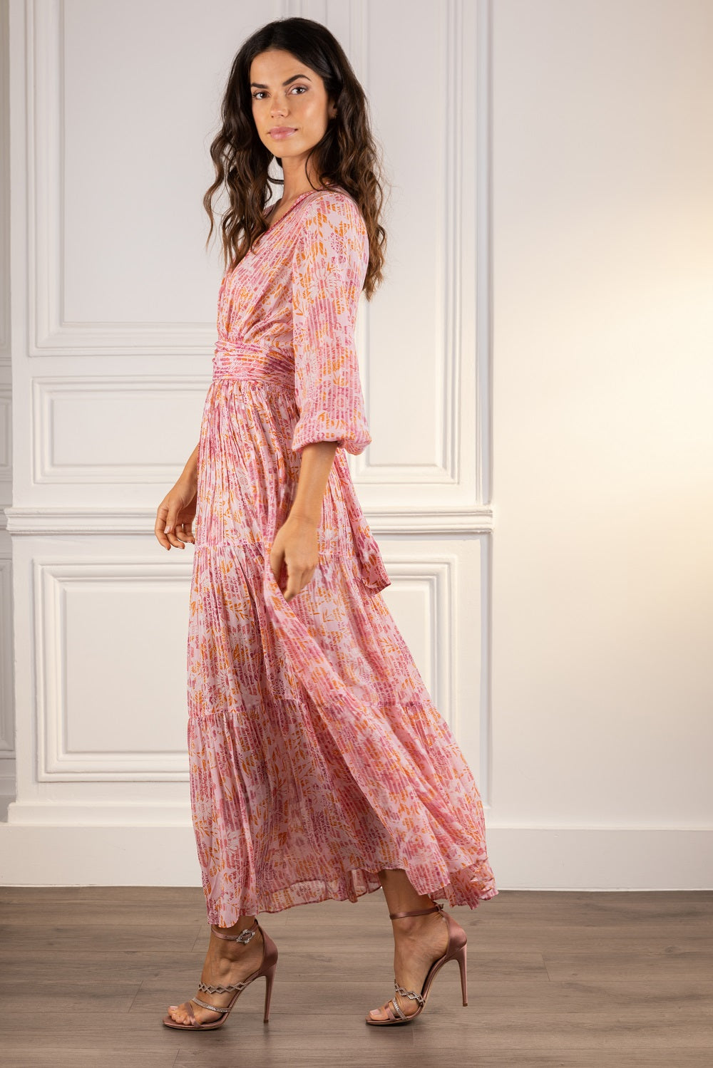 Poupette St Barth Long Dress Emily