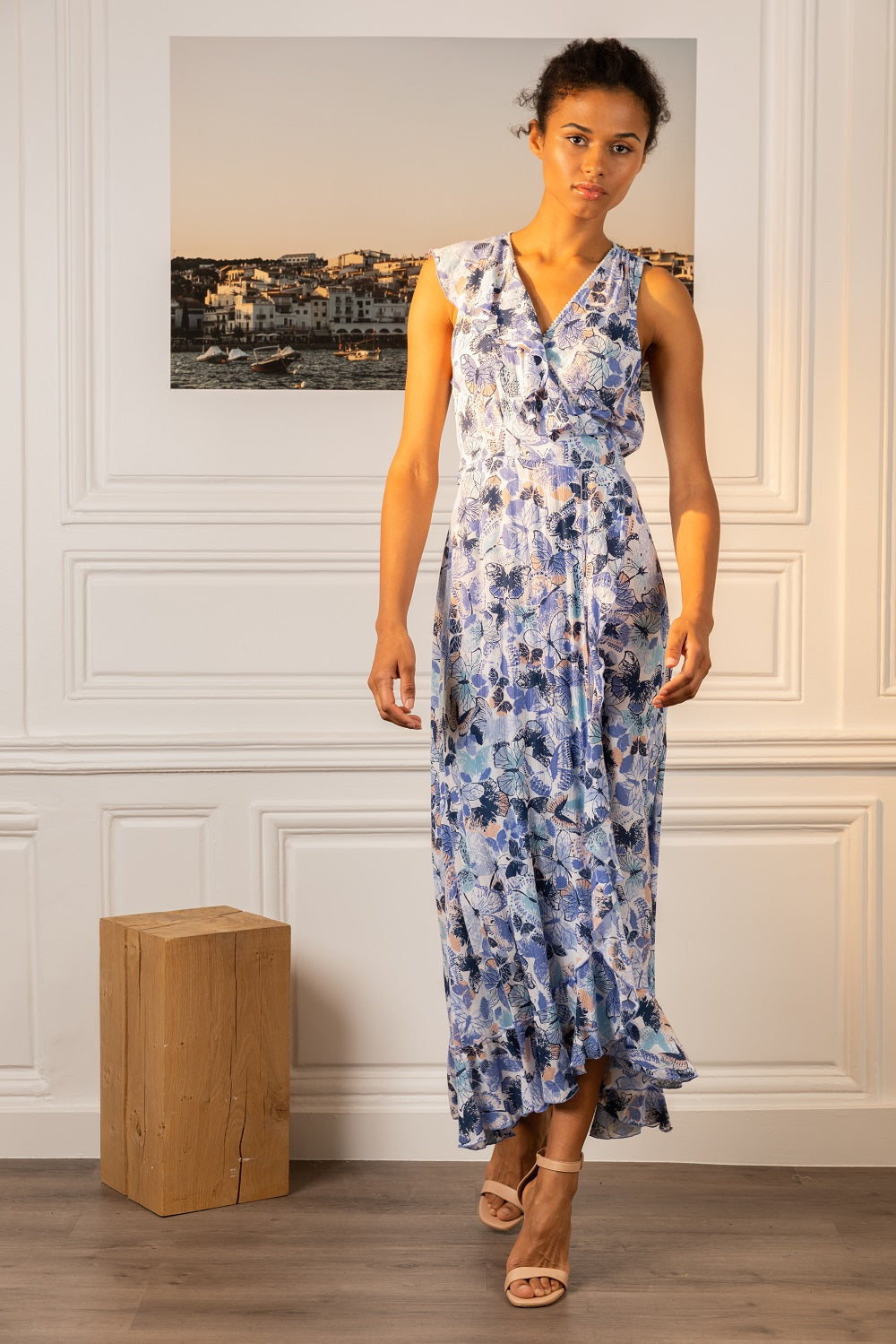 Poupette St Barth Long Dress Gwen