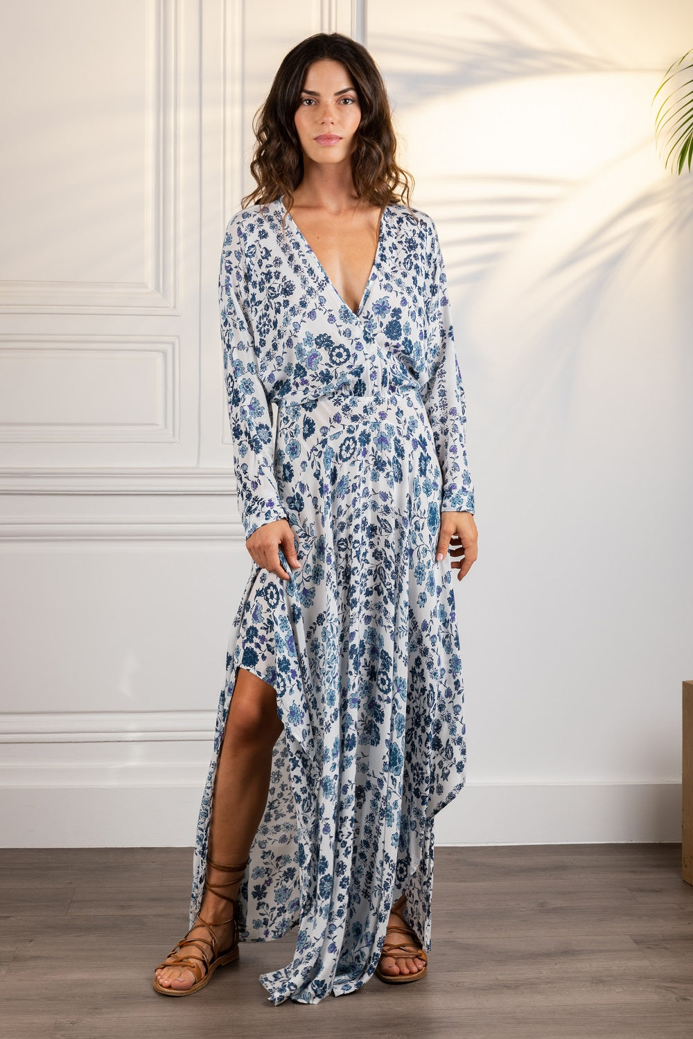 Poupette St Barth Long Dress Ilona