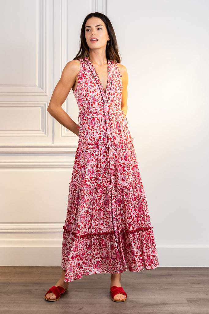 Poupette St Barth Long Dress Ivy