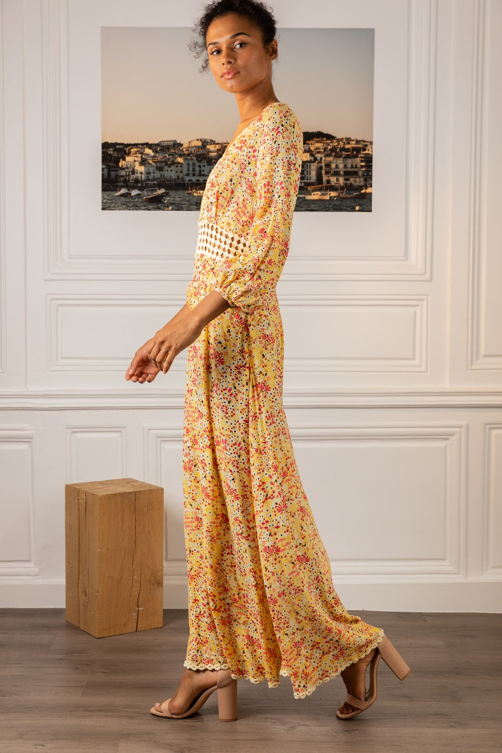 Poupette St Barth Long Dress Joan