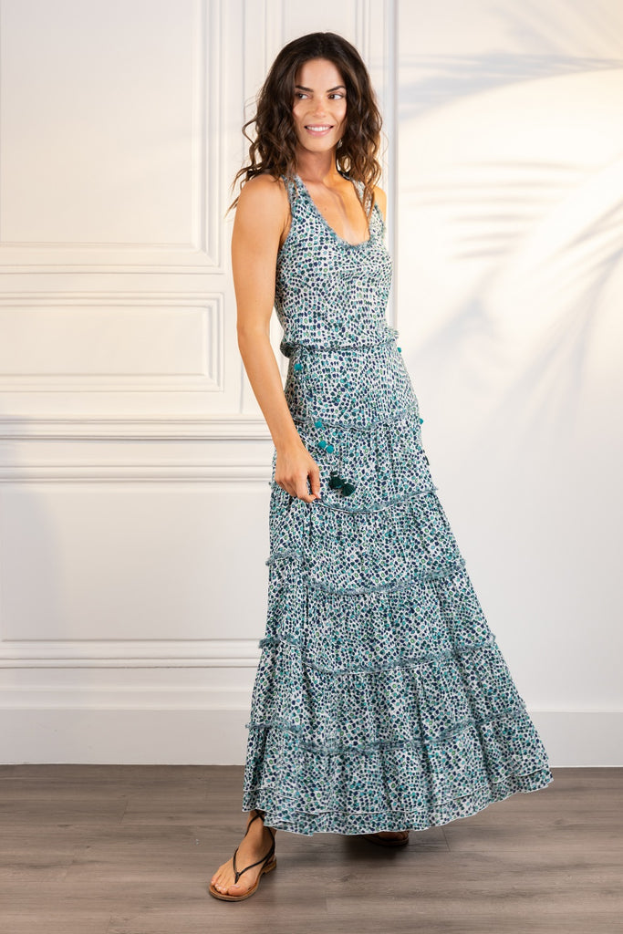 Poupette St Barth Long Dress Katie