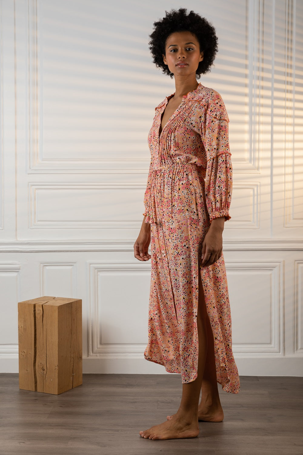 Poupette St Barth Long Dress Tunic Ilona