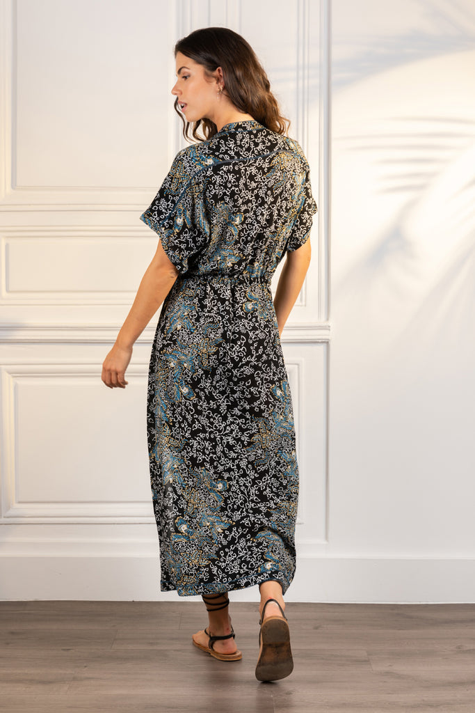 Poupette St Barth Long Dress Tunic Mya