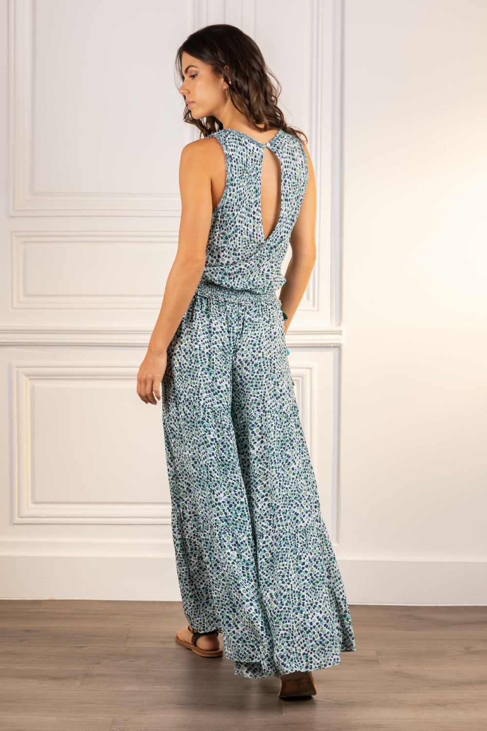 Poupette St Barth Long Jumpsuit Soledad